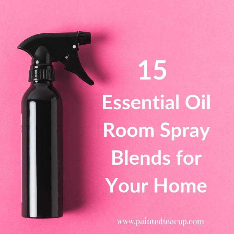 Stop using harsh chemicals in your home and start making your own diy essential oil room spray blends! To make these blends you only need essential oils, witch hazel and water. You will love this homemade all natural air freshener #homeadeairfreshener #essentialoilspray #essentialoilrecipe