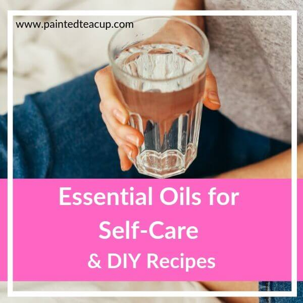Self-care is so important. Here are some easy, frugal ways to pamper yourself with essential oils and get some great diy recipes for skin care too!