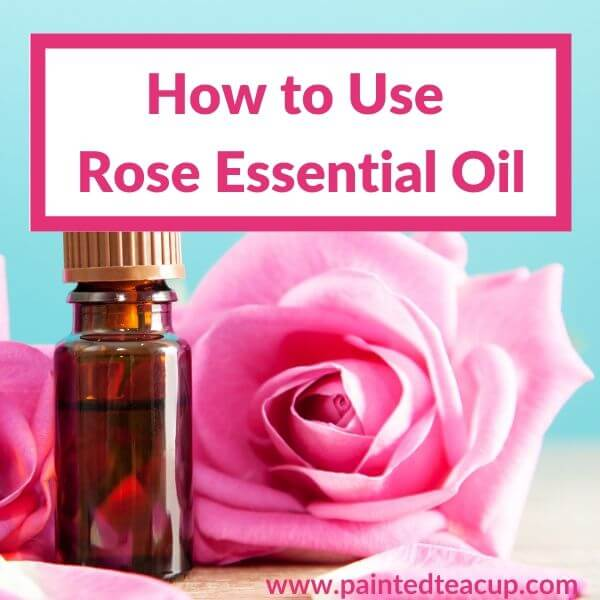 Rose essential oil has so many wonderful benefits including emotional support and benefiting the skin in many ways. Rose oil is a great addition! #roseessentialoil