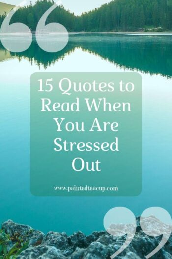 Are you feeling stressed out, overwhelmed, or frustrated? Try reading these 15 stressed out quotes to help you feel better when you are feeling stressed! #mentalhealthquotes #quotes